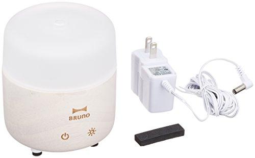 BRUNO ウッドアロマディフューザー ラウンド BOE014-WH