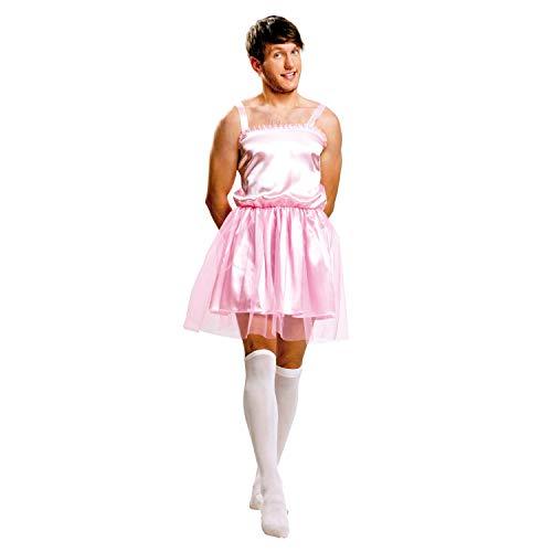 My Other Me Me Me - Disfraz de Bailarina para hombre, talla M-L, color rosa (Viving Costumes MOM01350)