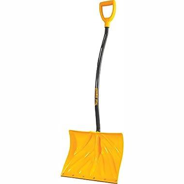 True Temper 18-Inch Ergonomic Snow Shovel - 1603400