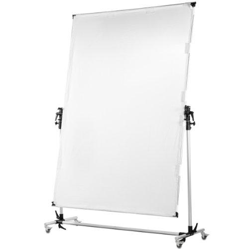 Walimex Pro - Pannello riflettore arrotolabile 150 x 200 cm
