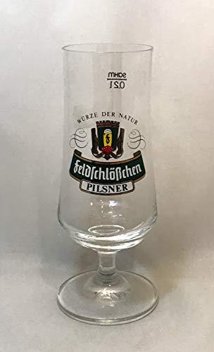 Feldschlößchen Bier Gläser 0,2l / Pilsner Glas / 2er Set