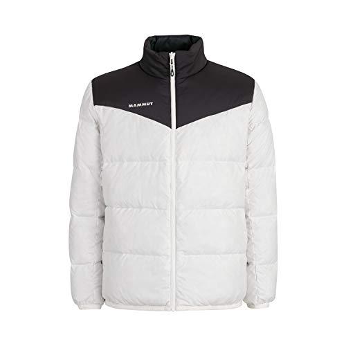 Mammut Herren Whitehorn Daunenjacke, Bright White-Black, XXL
