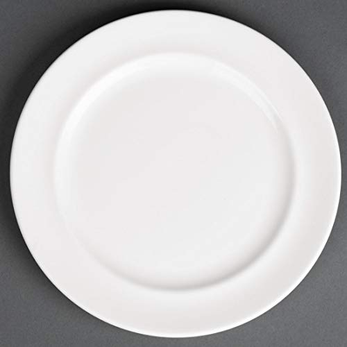 Royal Porcelaine Cg230 Maxadura Advantage Assiette, Blanc (lot de 12)