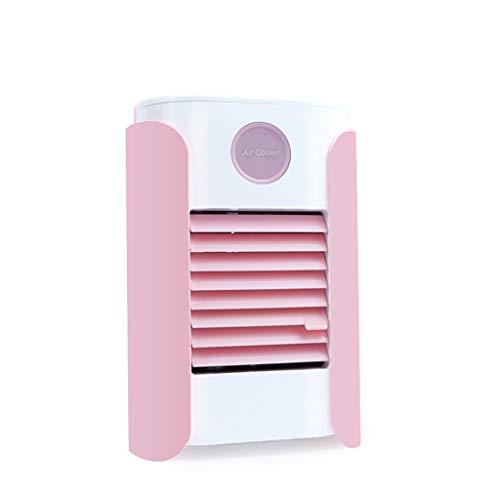 QHJ - Purificador de aire portátil con carga USB y aire acondicionado, mini refrigerador portátil, enfriador de aire portátil, para casa, oficina, dormitorio, viaje
