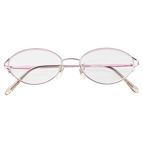 メイガン 老眼鏡 中間度数あり 女性 レディース 高級 メタルフレーム 疲れにくい 非球面レンズ採用 レッド 度数 3.25 4640-32