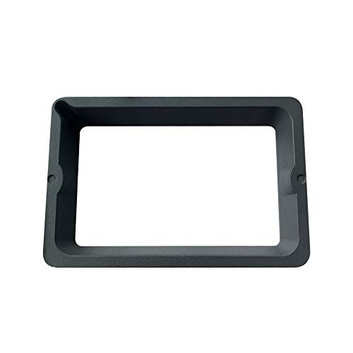 Resin Vat for QIDI TECH Shadow 5.5S LCD 3D Printer,CNC Aluminum Alloy Processing Surface Oxidation Treatment, with FEP Film and Steel Ring, Durable Metal Frame Resin Vat,Gray Color