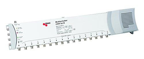 Triax CKR5X16 Multischalter (5 Eingänge / 16 Ausgänge) mit Netzteil