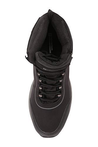 Mountain Warehouse Ramble Mens Softshell Boots – Waterproof Upper Walking Shoes, Mesh Lining, EVA Cushion Hiking Boots…