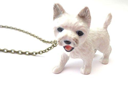 schmuck-stadt Hund Kette Terrier Hundekette Weiss