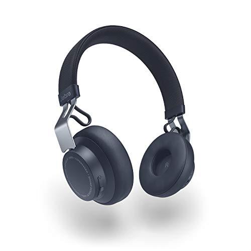 Jabra Move Style Edition On-Ear Kopfhörer – Kompatibel mit Bluetooth Smartphone, Computer und Tablet – Marine-Blau
