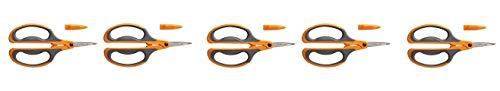 Find Bargain Fiskars 96386935J Comfort Grip Floral Snips (5-Pack)