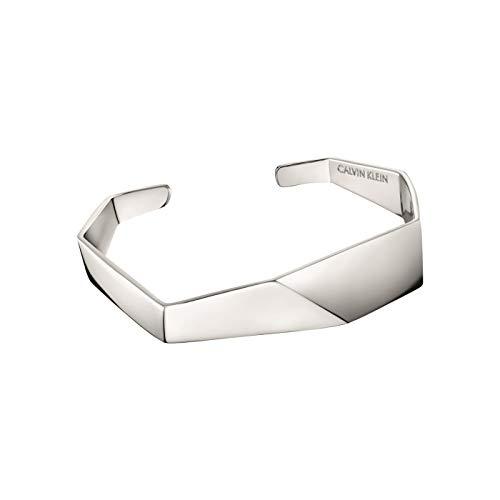 Calvin Klein Brazalete para mujer Origami KJATMF00010S S