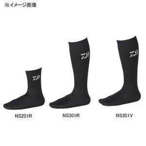 ダイワ(Daiwa) ネオソックス 先丸・ロング ブラック L NS-301R
