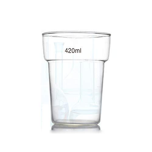 LBWT 420ml De Vidrio De Tinción del Cubilete, Teñido De Tela Equipo Experimento Experimento Vaso De Laboratorio, Químico