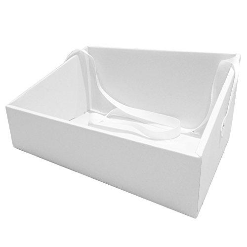 PartyStore24 Bauchladen in Weiß für Junggesellenabschied Party