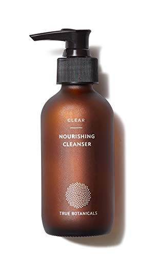 True Botanicals - Organic CLEAR Nourishing Cleanser | Clean, Non-Toxic, Natural Skincare (4 fl oz | 120 ml)