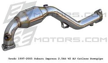 Tsudo Compatible/Replacement for 97-05 Subaru impreza 2.5RS Hi-Flow Downpipe