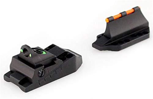 Williams Gun Sight Universal Adjustable Ghost Ring Fire Sight Set (71036), Black
