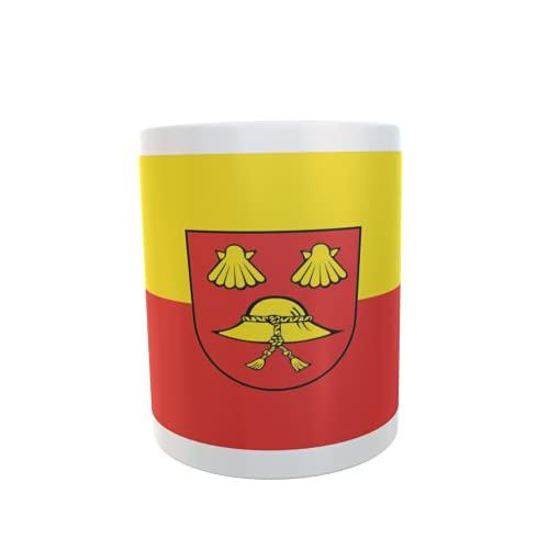 U24 Tasse Kaffeebecher Mug Cup Flagge Berkheim