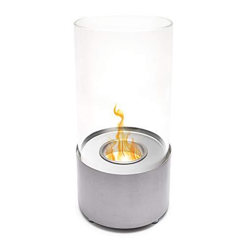 Urban Eco Co - Cuenco para chimenea de mesa, sin humo, portátil, interior y exterior, de acero inoxidable
