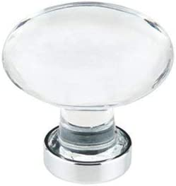 Emtek Popular popular Hampton Year-end gift Crystal Knob Available in Finishes 2 and Sizes 10