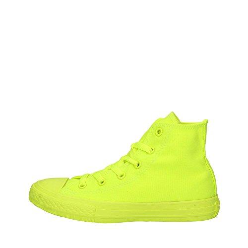 Converse 656853C CT AS Canvas, sneaker tela unisex bambino/ragazzo, VOLT MONOCHROME (giallo fluo) (38.5)