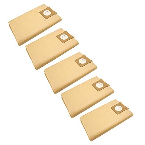 vhbw 50x bolsa compatible con Quigg NTS 1000 aspiradora - papel, marrón