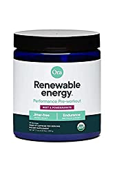 Ora Organic Renewable preworkout image