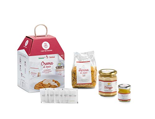 CREMA DI MAIS LOMBARDA My Cooking Box x4 Porzioni - Per una serata tra amici, una cena romantica o come idea regalo originale! Resta a casa con My Cooking Box!