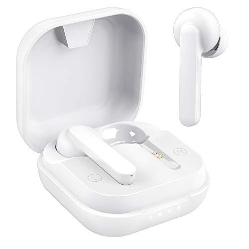 Willful Cuffie bluetooth Auricolari Senza Fili Cuffiette Wireless Sport con Microfono Auricolare in Ear USB C 50 Ore di Autonomia Musica Stereo Hi-Fi per Cellulare PC TV
