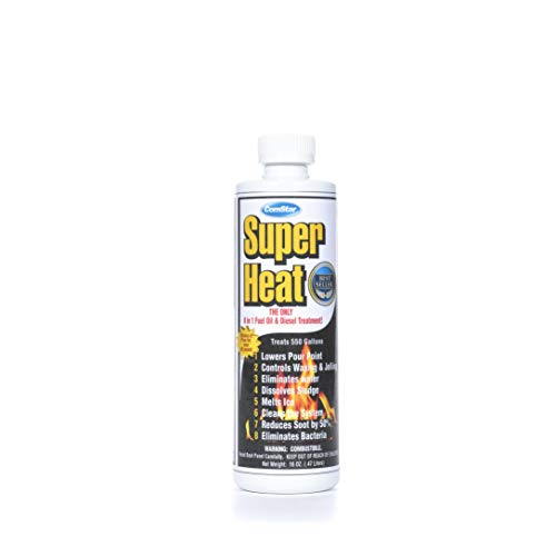 ComStar 60-130 Super Heat 8-In-1 Heating and Fuel Oil Treatment, 16 oz (single pack)