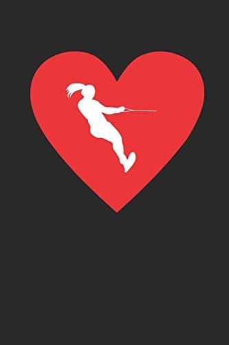 Ich Liebe Wasserski: Wochenkalender A5 für Wasserskifahrer I Wasserski I Wakeboard I Skifahren I A5 (6x9 inch.) I Geschenk I 120 Seiten I Wochenplaner