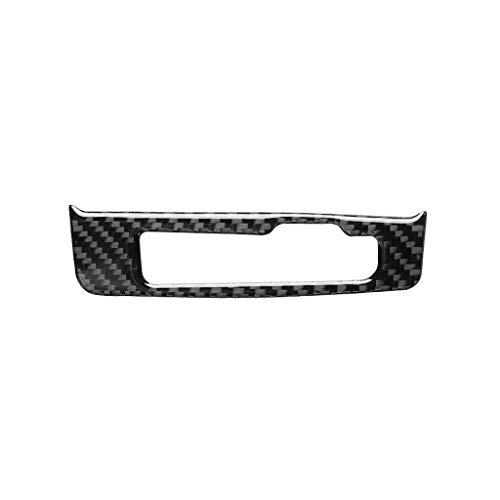 GENG Autoinnenleisten Carbon-Faser-Gangschaltung-Rahmen-Aufkleber Auto-Änderung Zubehör, passend for Audi A3 2014-2019