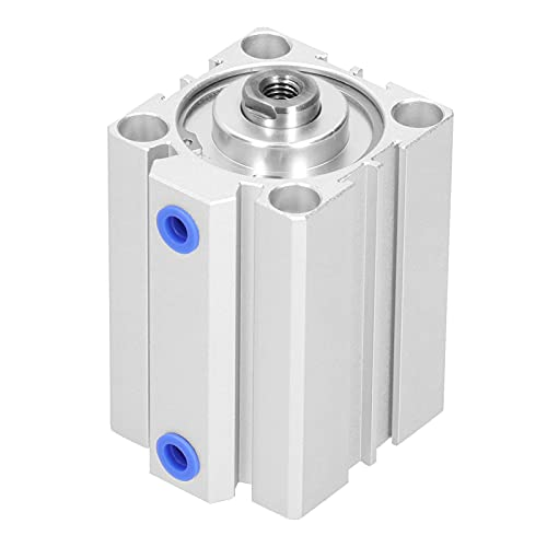 Agatige Cilindro de Aire neumático, Cilindro Delgado de aleación de Aluminio de Doble acción, componentes de Sellado, Suministros industriales SDA40X50