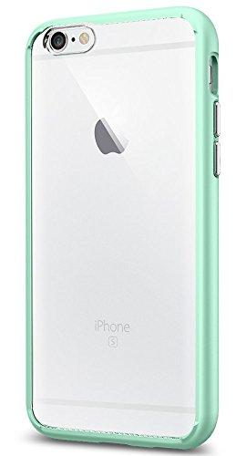 Spigen iPhone 6S Hülle, [Ultra Hybrid] Luftpolster-Technologie [Mint Grün] Durchsichtige Rückschale und TPU-Bumper Schutzhülle für iPhone 6/6S Case, iPhone 6/6S Cover - Mint (SGP11601)