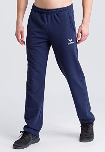 ERIMA Herren Sweathose Essential 5-C pants, new navy/weiß, XXXL, 2101908