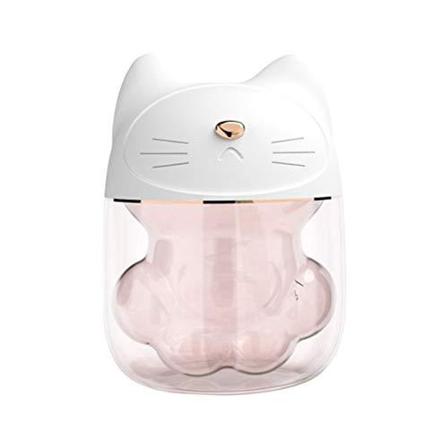 Kenyaw Cat Claw Cup Mini Humidificador USB Aromaterapia Difusor De Aceite Esencial...