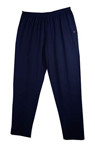 Maxfort Pantalone Tuta Uomo Taglie Forti Art. Praga Jersey Cotone Made in Italy Oversize