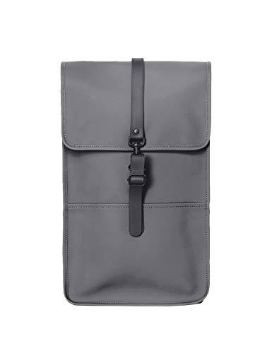 RAINS Backpack Rucksack für Herren Einheitsgröße Charcoal
