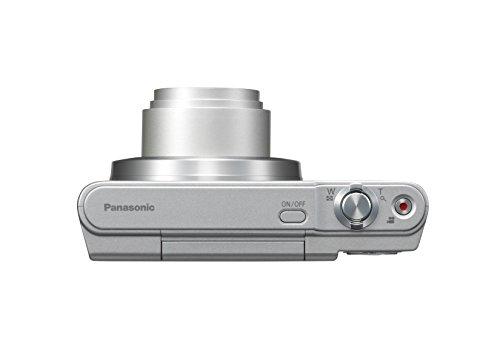 Panasonic LUMIX DMC-SZ10EG-S Style-Kompakt Digitalkamera (12x opt. Zoom, 2,7 Zoll LCD-Display um 180° schwenkbar,WiFi, HD-Videos, Bildstabilisator) silber