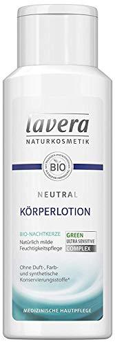 Lavera Bodylotion Neutral Körperlotion mit Bio-Nachtkerze & Bio-Jojoba 3er Vorteilspack (3 x 200ml)