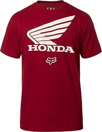 Fox Racing - Camisas Honda para hombre, M, Blanco óptico