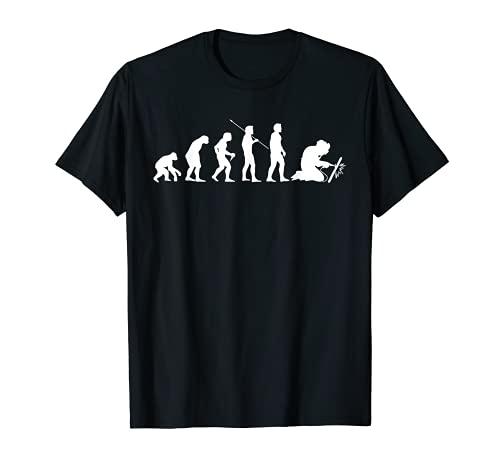 Regalo de la profesión de soldador Evolution Craftsman Camiseta