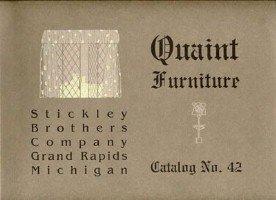 Quaint Furniture Catalog No. 42