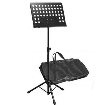Leggio musica con tavola forata da orchestra professionale con borsa