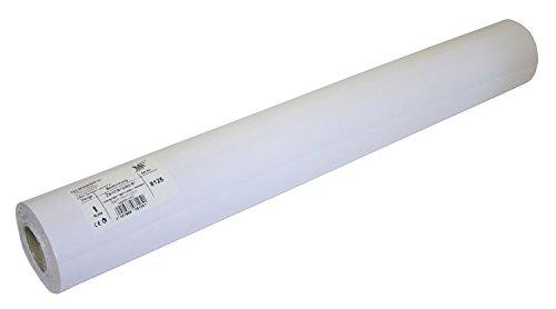 folia 8125 - Zeichenpapierrolle, 80g / m², 50 cm x 25 m, weiß - viel Platz für kreative Ideen
