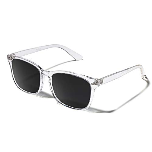 TIJN Occhiali da sole polarizzati per donna Uomo Occhiali da vista classici con montatura alla moda Protezione UV400