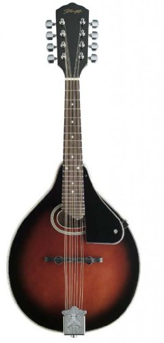 Stagg M-30 Bluegrass Mandolin with Spruce Top - Redburst
