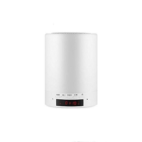 Veilleuse ZQ Smart Bluetooth Audio LED Nuit Lumière Musique Haut-Parleur Romantique sans Fil Lampe Chambre Chevet Mini