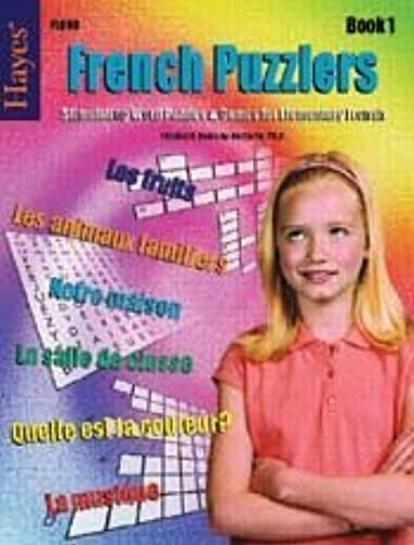 French Puzzlers Book 1 by HAYES SCHOOL PUBLISHING